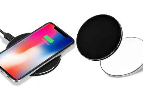 Groupon Goods Global GmbH - One or Two Wireless Qi Chargers - Save 0%