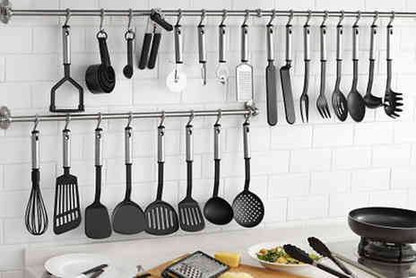 Vivo Mounts - 38 piece stainless steel kitchen utensil set - Save 43%