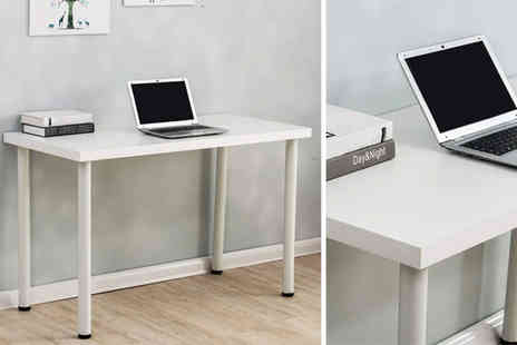 Meriden Furniture - Minimal computer desk table coming in 3 colours - Save 57%