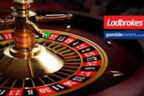 Ladbrokes - Credit for all Ladbrokes online casino games - Save 83%