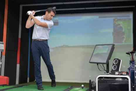 Kaddie Sports - One or Two Hour Golf Simulator Session for Up to Eight - Save 82%