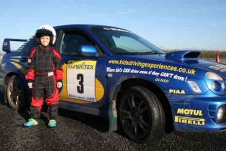 Rally Rides - Six Lap Extreme Junior Driving Experience - Save 52%
