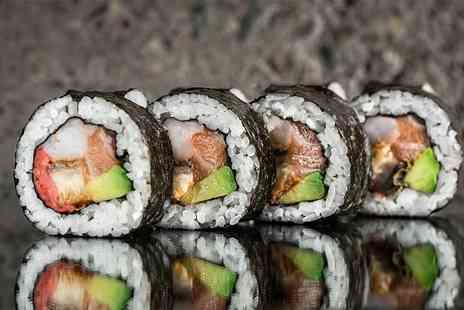 Midas Touch Crafts - Two hour sushi making workshop for one with a £40 voucher, four types of sushi to take home and more - Save 71%