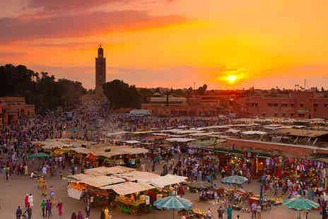 Fleetway Travel - Escape with a three, four or five nights getaway to Marrakech Now with the ability to choose your flight - Save 0%