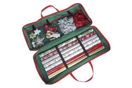 Groupon Goods Global GmbH - Christmas Gift Wrap Storage Bag - Save 77%