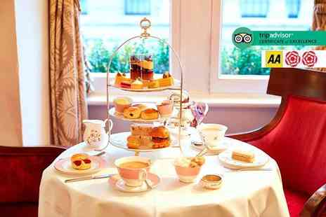 Guoman Hotels - Afternoon tea for two people with a glass of Champagne each - Save 46%