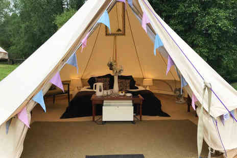 Hustyns Hotel and Spa - Two nights glamping getaway for up to four people with breakfast, bottle of Prosecco and leisure access - Save 39%