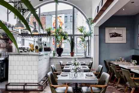 The BackYard - Five small plates to share between two people with a glass of Prosecco each - Save 63%