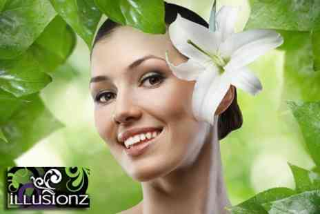 Illusionz Beauty Salon - Voucher Towards Choice of Facial Injection Treatments for One Areas - Save 76%