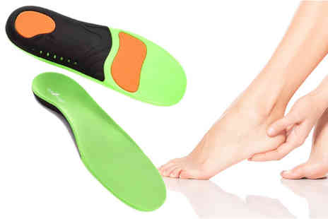 Sole Control - Pair of edge full length orthotic insoles - Save 0%