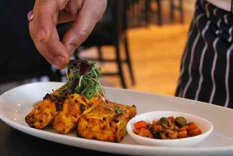 Praza Edgbaston by Pushka - Four course gourmet Indian banquet for two people - Save 48%