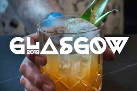 Glasgow Cocktail weekend - Explorer or All Access Ticket from 26th To 29th September - Save 60%