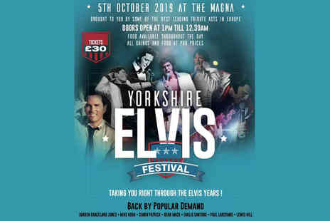 Midas Events - Ticket to the Yorkshire Elvis Festival on Saturday 5th October - Save 26%