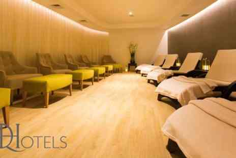 Belton Woods - Spa Access with Drink, Pastry and Towel Hire for Two - Save 67%