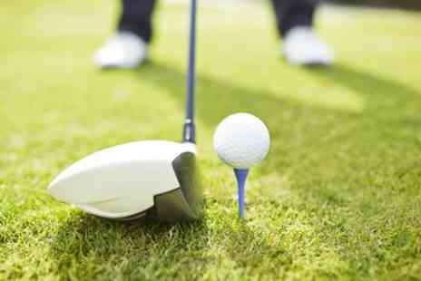 Charnwood Golf Complex - One Hour of Driving Range for Two Adults or Family of Four - Save 48%