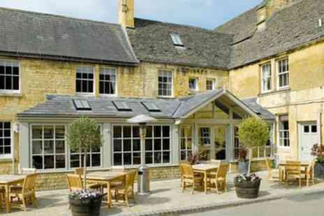 Noel Arms Hotel - Classic Double Room for Two with Breakfast and Cream Tea - Save 37%