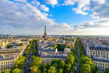 Crystal Travel - Two nights Paris holiday with a return Eurostar ticket - Save 28%