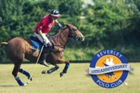 Beverley Polo Club - Entry For Four People to Tenth Anniversary Cup - Save 50%