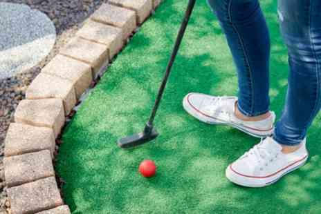 Sandbanks Crazy Golf - Round of Crazy Golf for Up to Four - Save 33%