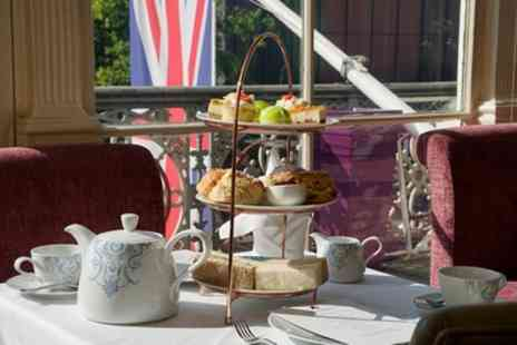 Amba London - Afternoon Tea with Optional Glass of Bubbly for Two or Four - Save 48%
