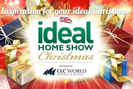 Ideal Home Show Christmas - Two tickets from 20th To 24th November - Save 53%