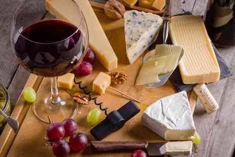 London Inspired - Entry to Matured in London event, including two cheeseboards and a bottle of wine for two people - Save 40%