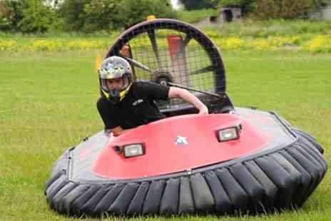 Experience Megastore - Five or Ten Lap Hovercraft Experience or Lorry Driving Experience for One or Two - Save 0%