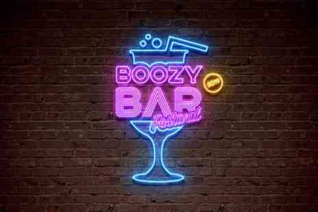 Boozy Bar Festival - One, two or four general admission or VIP tickets from 21st September - Save 50%