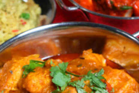 Landmark Indian Restaurant - Two Course Indian Meal for Two with Wine - Save 59%