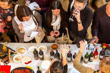 Union Press - Chelsea wine show with unlimited tastings - Save 59%