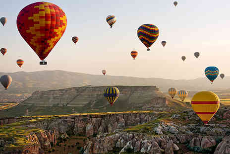 Via Holiday - Four nights Cappadocia trip with hot air balloon ride and flights or Seven nights break including four nights in Cappadocia and three nights in Instanbul - Save 35%