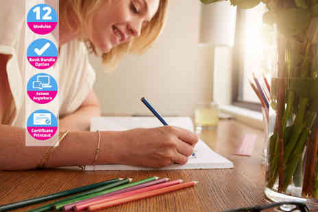 Creative Colouring Course - Online creative colouring course - Save 97%