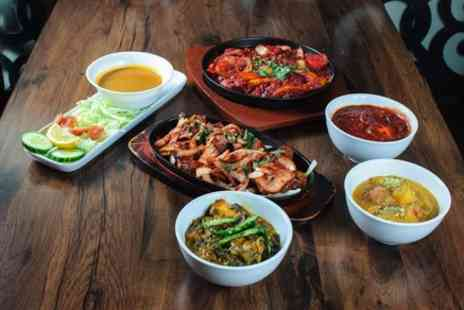 Elachi - Three Course Indian Meal with a Glass of Wine for Two or Four - Save 49%