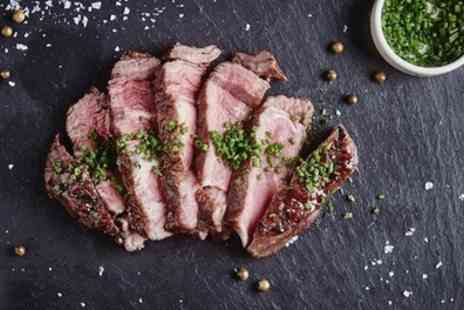 Marco Pierre White Steakhouse Bar & Grill - Roast Chateaubriand Steak Meal with Drink for Two - Save 45%