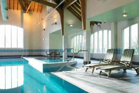 Hollins Hall Hotel And Country Club - Spa Day with Treatment and Prosecco for One or Two - Save 50%