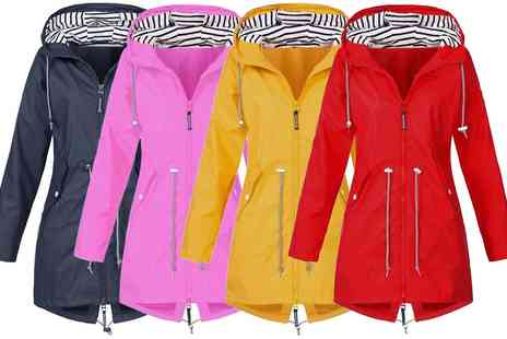 Groupon Goods Global GmbH - Womens Water Resistant Raincoat - Save 0%