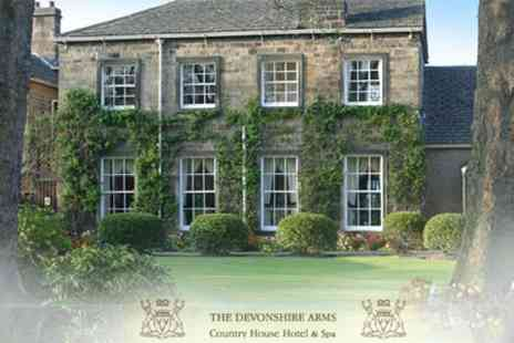 The Devonshire Arms - One Night Stay With An A La Carte Dinner And Champagne For Two - Save 50%