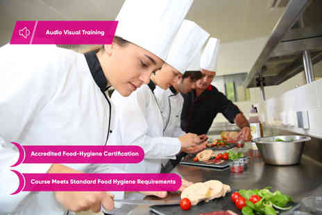 Educator London - Online level 2 food hygiene and safety course for catering - Save 98%