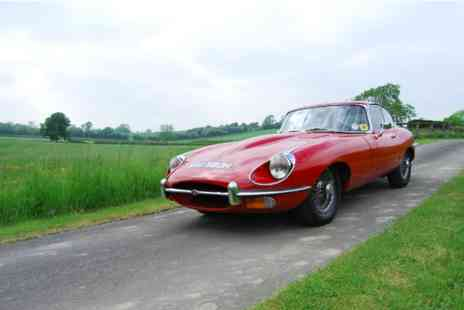 Virgin Experience Days - Vintage E Type One Hour Driving Experience Around The Worcestershire countryside - Save 0%