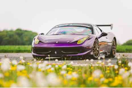 Virgin Experience Days - Ferrari 458 Challenge Race Car Driving Experience - Save 0%