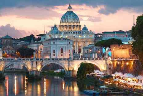 Travel Center - Four nights Rome and Budapest trip with internal and external flights - Save 45%