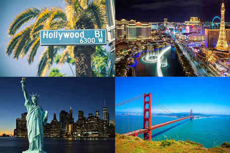 Bargain Late Holidays - Ten nights New York, San Francisco, Los Angeles and Las Vegas holiday with transfers and return flights - Save 40%