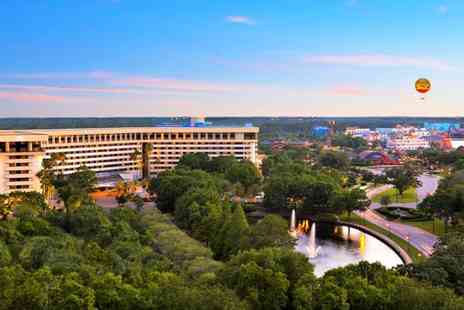 Hilton Orlando - Stylish Hotel Near Theme Parks and Optional Beach Escape for two - Save 74%