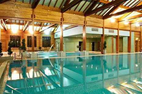Bannatyne Spa - Deluxe spa package for two people with three treatments each, facility access and a £5 voucher each - Save 68%