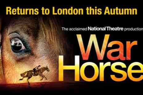 Wembley Park Theatre - Tickets to see War Horse - Save 0%