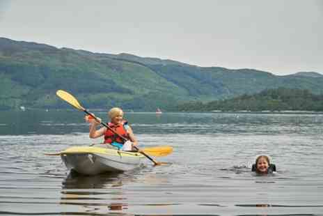 Loch Lomond Leisure - Single kayak hire - Save 10%