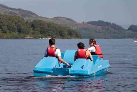 Loch Lomond Leisure - Pedal boat hire - Save 0%