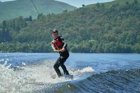 Loch Lomond Leisure - Enjoy the thrills of wakeboarding - Save 0%