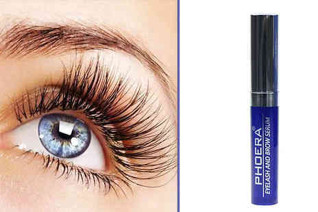 Forever Cosmetics - Phoera Eyelash And Brow Serum Choose from 1, 2 or 3 Pack - Save 64%