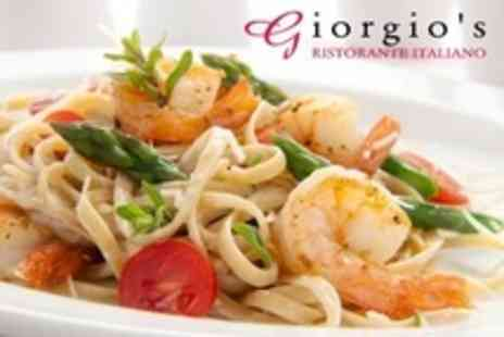 Giorgios Ristorante Italiano - Italian Dining Cuisine For Two - Save 65%